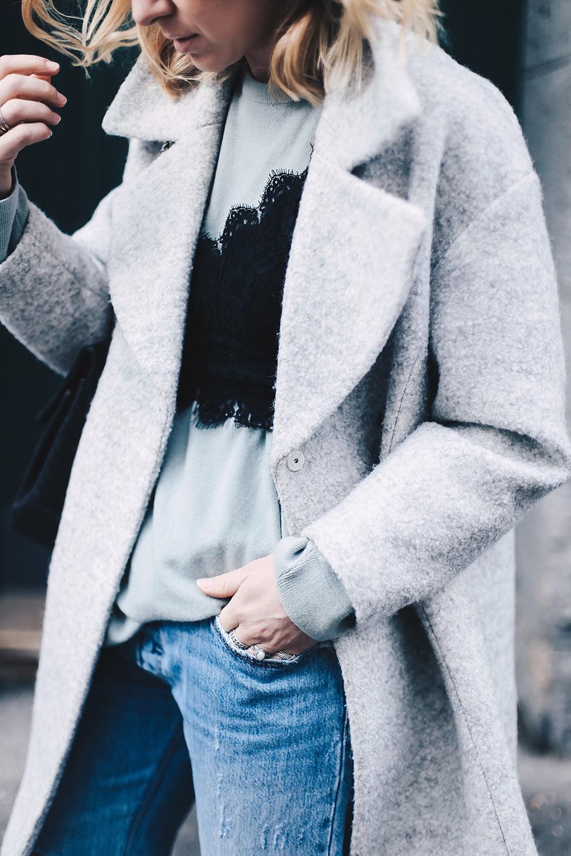 Spitzenbustier kombinieren, Streetstyle, Spitzen BH Outfit, Modeblog, Fashion Blog, Winteroutfit, Levis 501 CT, whoismocca.com