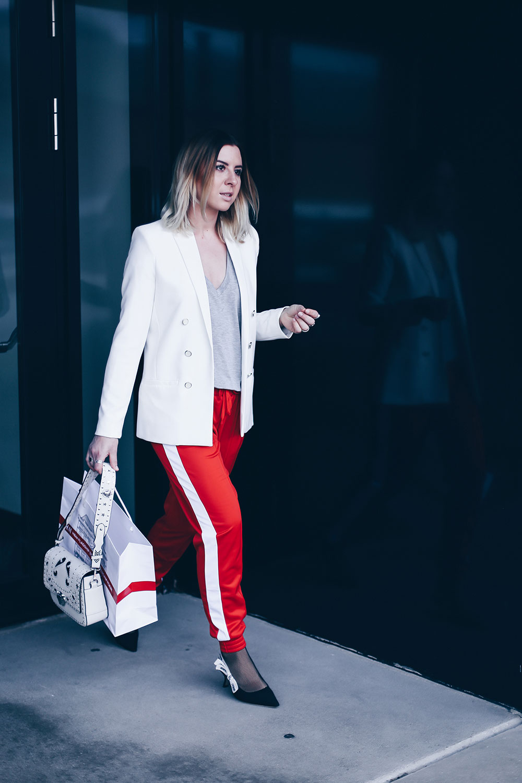 Der Athleisure Look im Office Style, Athleisure Wear im Alltag, Athleisure Trend business tauglich stylen, Modeblog, Fashion Blog, www.whoismocca.com