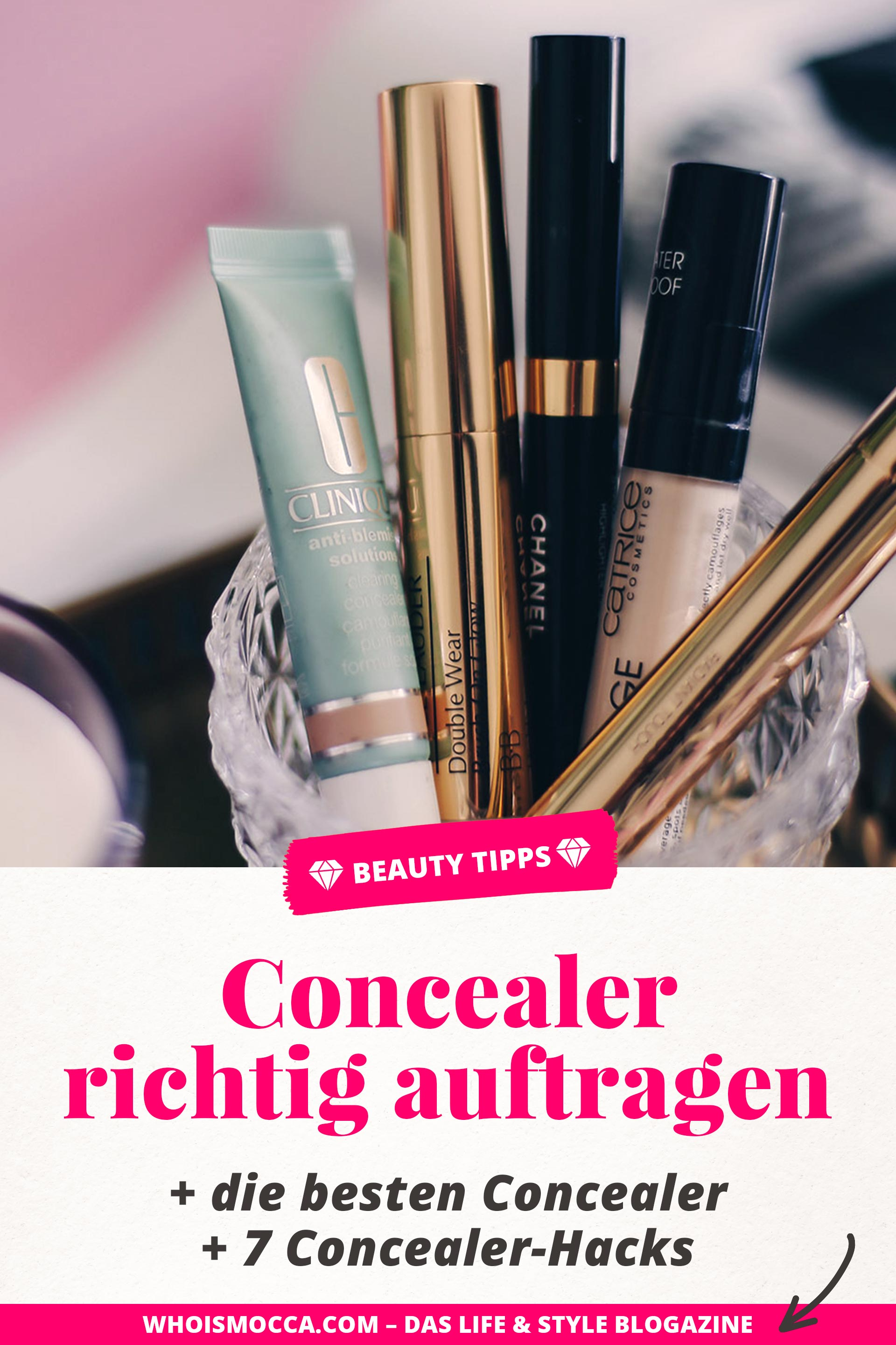 Concealer Vergleich und Review, Concealer richtig auftragen, Concealer Hacks, Concealer Tipps, Welche Concealer Farbe, Beautyreport, Beauty Blog, Beauty Magazin, #concealer #beautytipps #beautyhacks #beautyblogger #foundation #teint #concealertipps #beautytutorial, www.whoismocca.com