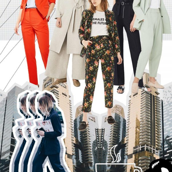 Fashion Mood Board Business Casual Attire, Trend 2017, Fashion Trends Moodboard, Modetrends Inspiration, Style Blog, Modeblog, Fashion Blog, Inspiration, www.whoismocca.com