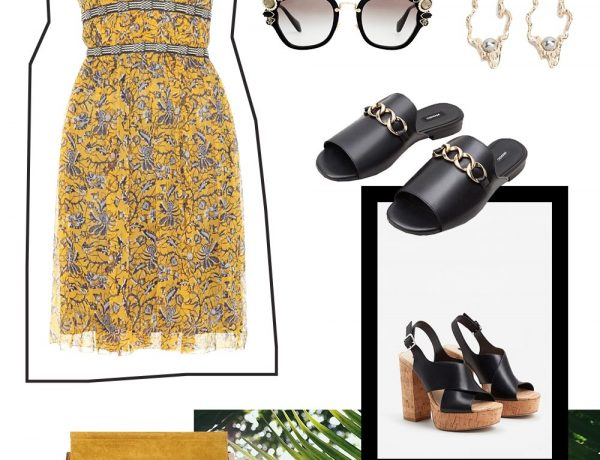 Sommer Outfit Cravings, Outfit Idee, Isabel Marant Print Kleid, Plateau Schuhe, Miu Miu Sonnenbrille, Chloe Faye Tasche, Mango Schuhe, Urlaubsoutfit, Fashion Blog, Modeblog, Style Blog, www.whoismocca.com