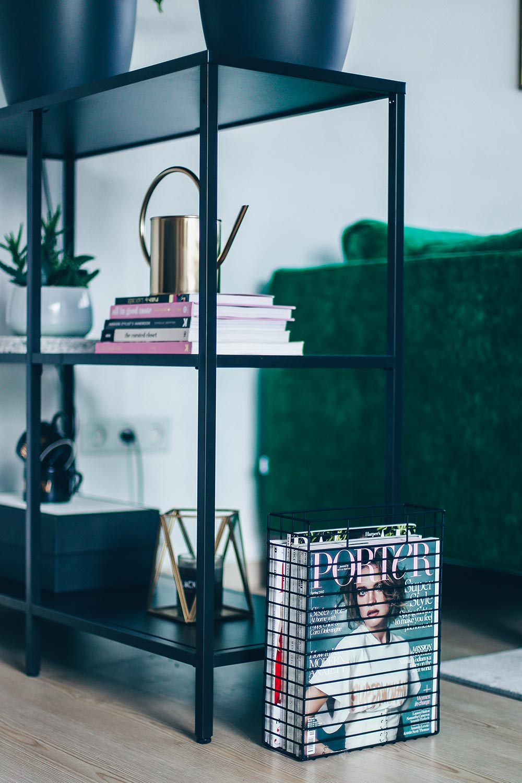 Industrial chic wohnzimmer  Unsere neue Wohnzimmer-Einrichtung in Grün, Grau und Rosa!