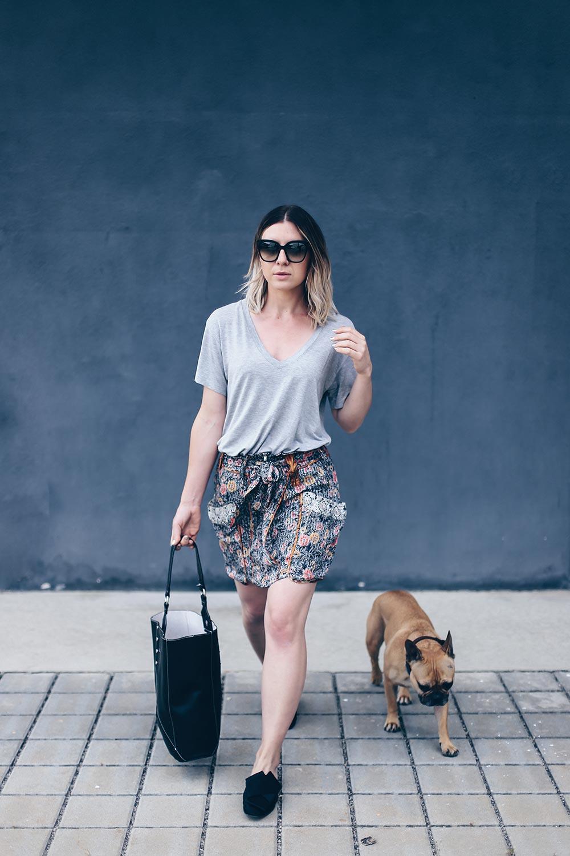 Summer Wardrobe Essentials, Capsule Wardrobe, Printrock Isabel Marant, Basic Shirt, das perfekte Basic Shirt, Basic Shirt kombinieren, H&M Slipper N21 Lookalikes, Mango Shopper, Sommer Outfit, Fashion Blog, Modeblog, Outfit Blog, Style Blog, www.whoismocca.com