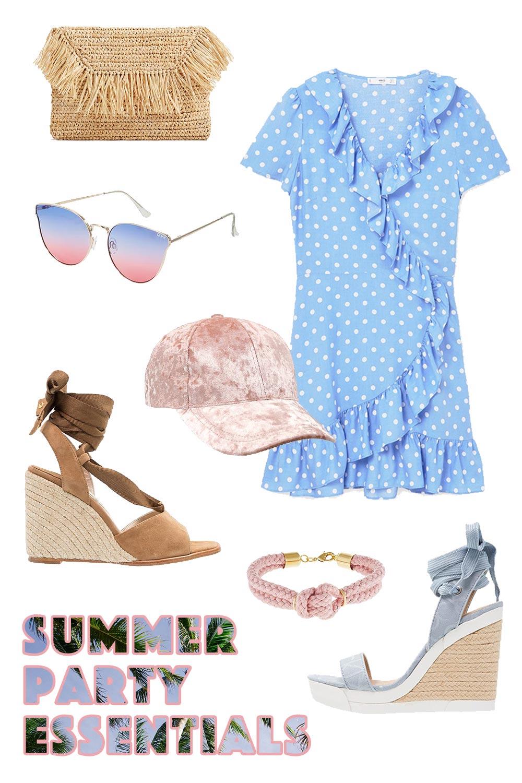 Wickelkleid kombinieren, Sommer Outfit Ideen, Sommerkleider Print, Korbtasche, Streetstyle Blog, Outfit Blog, Modeblog, Fashion Blog, www.whoismcoca.com