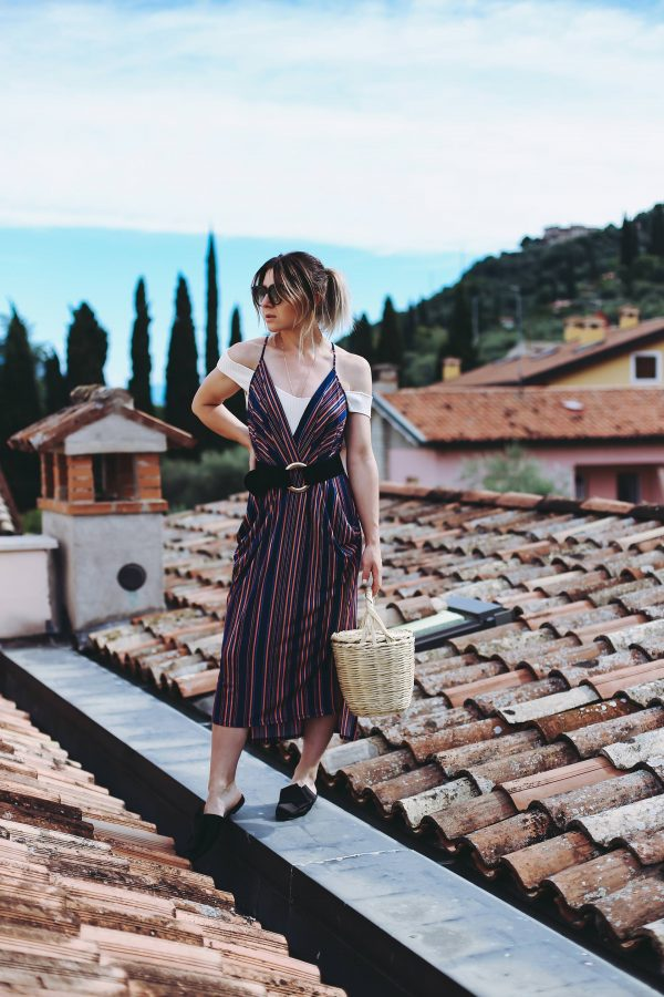 Bold Stripes Dress, Bold Stripes Trend, Sommer Outfit, Birkin Basket, Fashion Blog, Modeblog, Outfit Blog, Summer Capsule Wardrobe Essentials, www.whoismocca.com