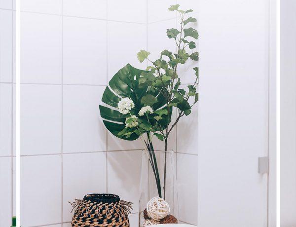 So gut lässt sich ein kleines Badezimmer ohne Fenster modern gestalten, Ikea Badezimmer, Badezimmer Ideen, bathroom ideas, Bad Inspiration, Badezimmer modern einrichtigen, Badezimmer günstig einrichten, Naturmaterialien, Gillette Club Station, Interior Blog, Style Blog, Magazin, Blogazine, www.whoismocca.com