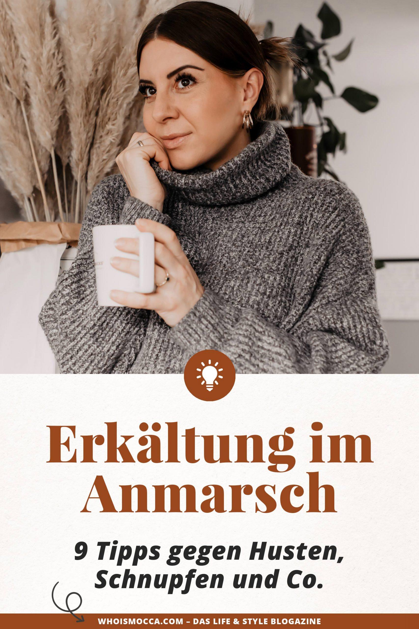 Erkältung im Anmarsch? 9 Tipps gegen Husten, Schnupfen und Co. und die Grippesaison im Büro findest du jetzt am Karriere Blog www.whoismocca.com