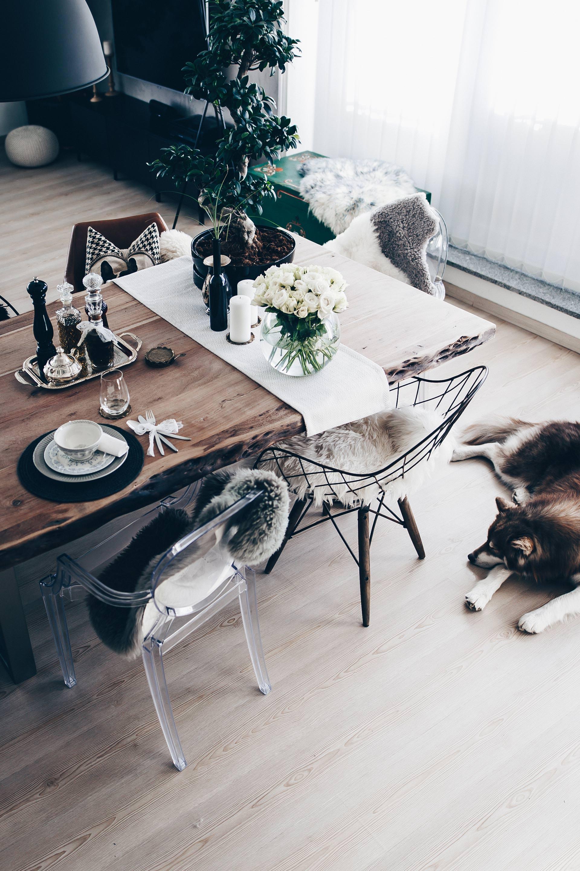 tischdekoration f r jeden tag so habe ich unseren essbereich gestaltet. Black Bedroom Furniture Sets. Home Design Ideas