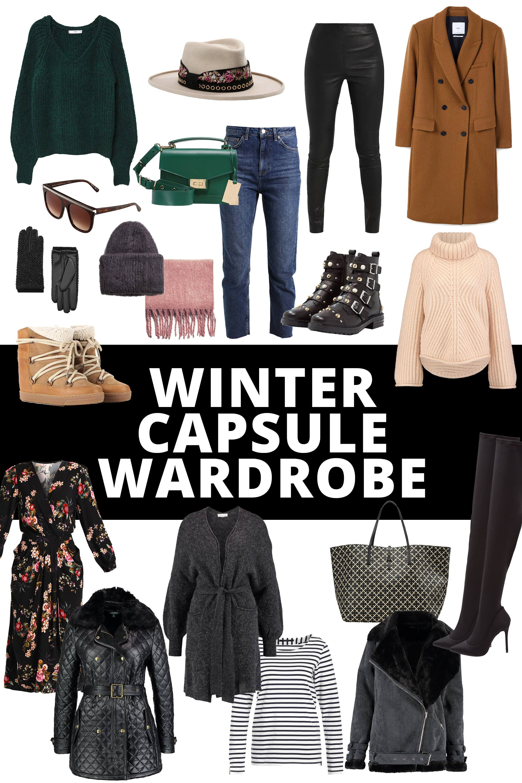 Winter Capsule Wardrobe For 2017 And 2018: Top Gestylt Durch Kalte Tage Mit Dieser Winter Capsule