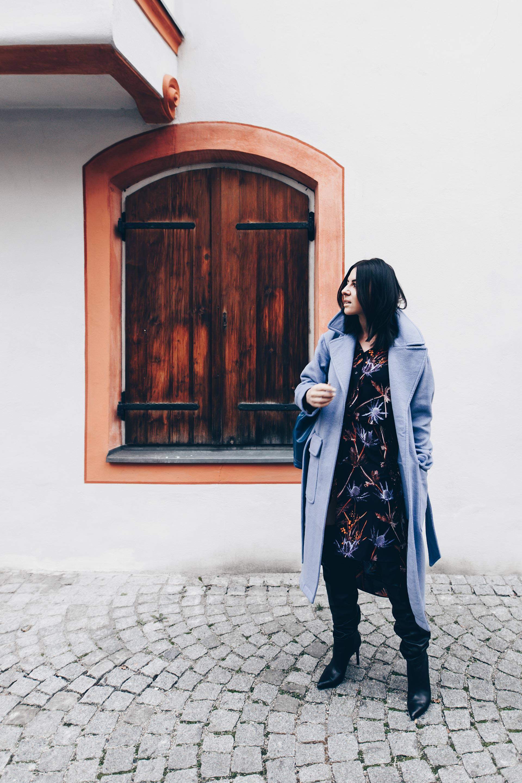 Overknee Stiefel Zum Kleid