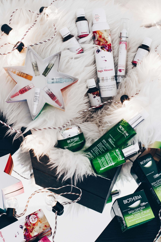 Blogger Adventskalender Beauty Gewinnspiele, Pflege Paket für reine Haut und Anti-Aging, Giveaway Beauty, Style Blog, www.whoismocca.com