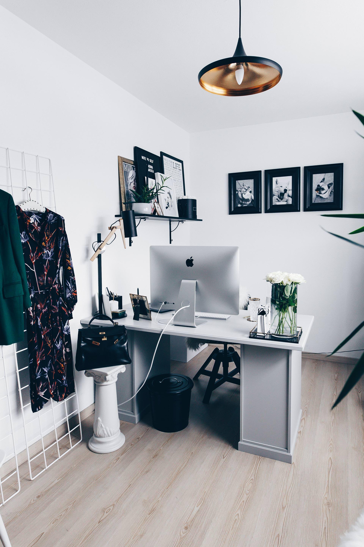 Arbeitsplatz Zuhause Einrichten 5 Ideen Fur Mehr Stil Im Blogger