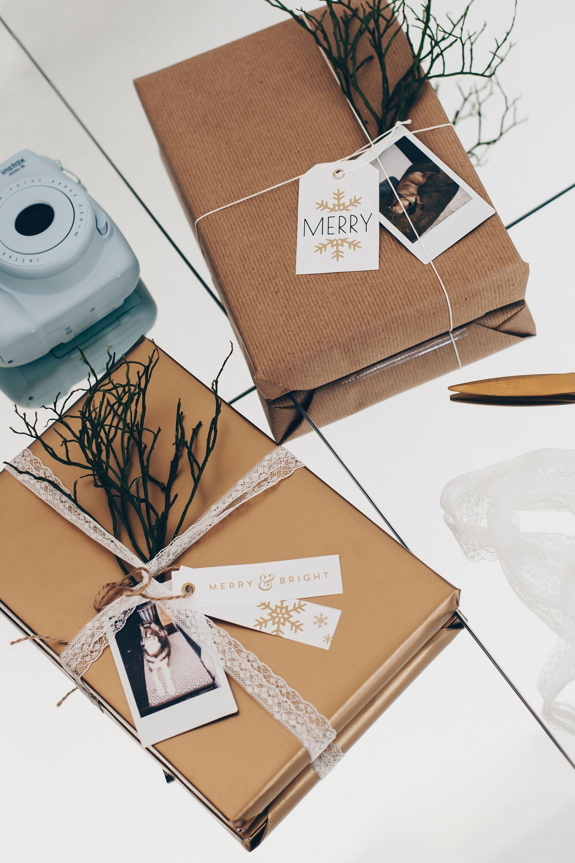 einfache und kreative geschenkverpackungen f r weihnachten selber machen. Black Bedroom Furniture Sets. Home Design Ideas