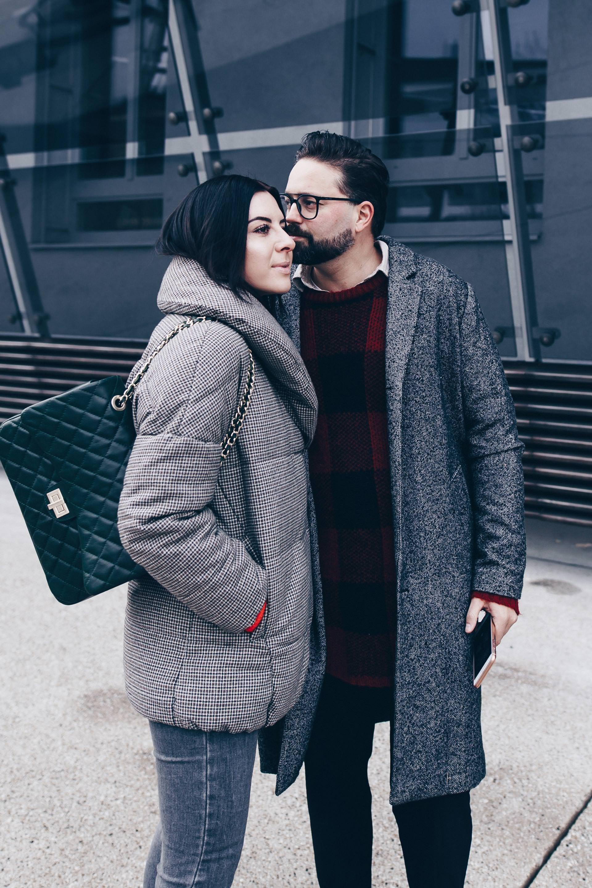 Karomuster kombinieren, Partnerlook und Pärchen Outfits mit Karo, Glencheck, Tartan, Outfit Tipps und Ideen, Streetstyle, Fashion Blog, Outfits Blog, Modeblog, www.whoismocca.com