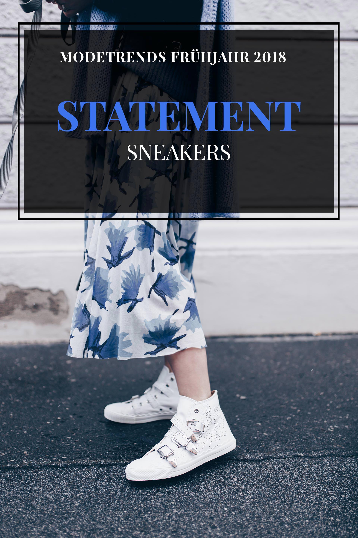 Modetrends Frühjahr 2018, Modetrends Frühling 2018, Modeblog, Was ist 2018 modern, was wird 2018 Trend, modetrends 2018, Statement Sneakers, Fashion Blog, www.whoismocca.com