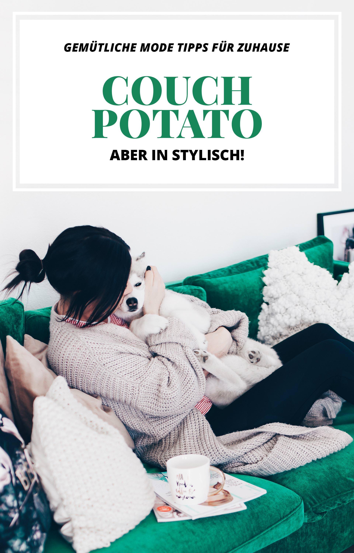 Couch Potato Outfit und Style, gemütliche Mode Tipps für Zuhause, Joggingmode für Frauen, lockerer Pullover, lässiger Hoodie, schöne Jogginghose, Basic Outfits für Zuhause, Basic Mode, Fashion Blog, Modeblog, www.whoismocca.com