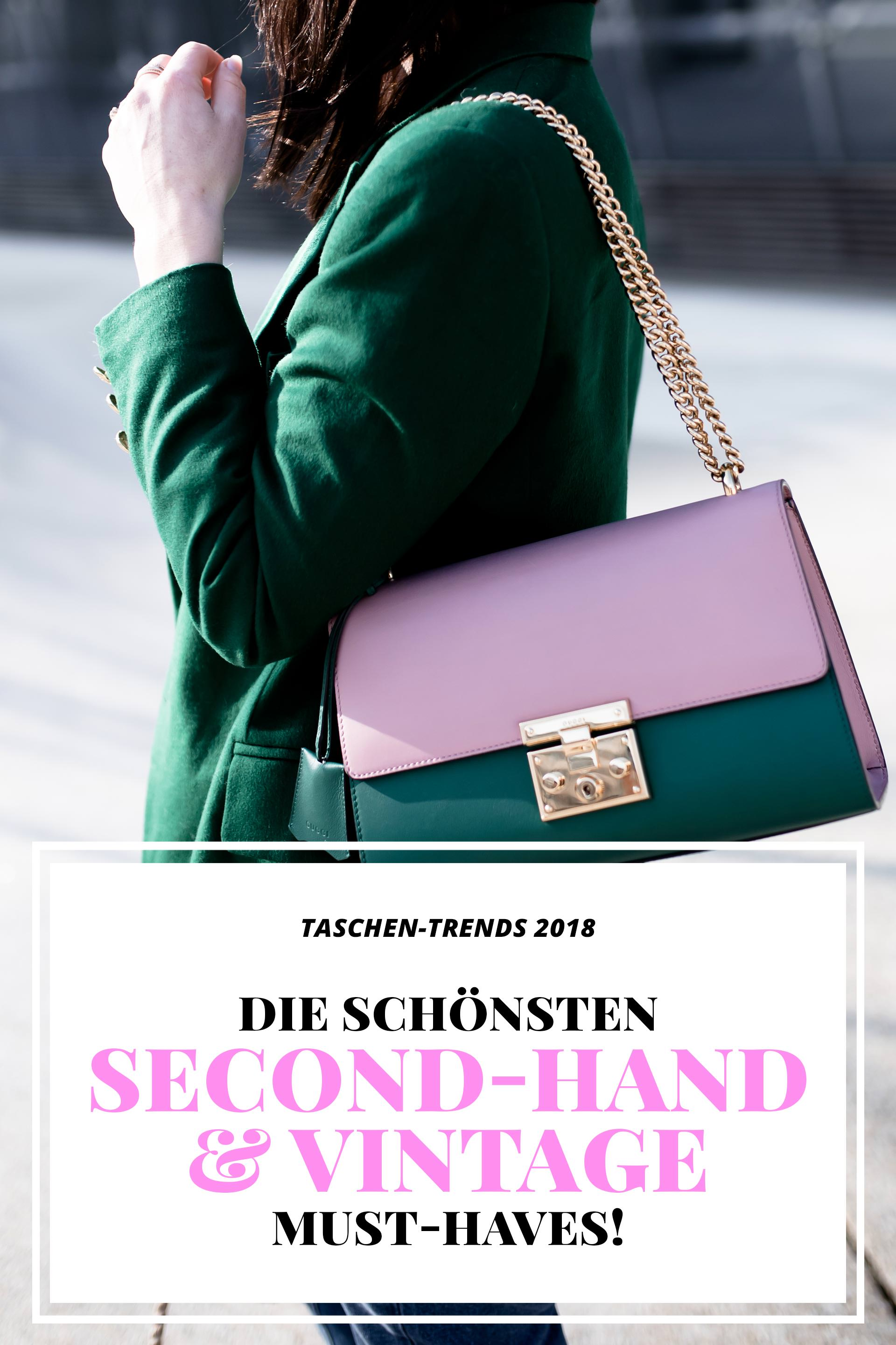 taschen trends 2018 die sch nsten second hand und vintage must haves. Black Bedroom Furniture Sets. Home Design Ideas