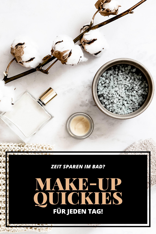 Zeit im Bad sparen, Beauty Tipps und Tricks zum nachmachen und ausprobieren, Make-up-Quickies, Make-up und Beauty Hacks, morgens Zeit im Bad sparen, Tipps für ein schnelles Tages-make-up, Beautyreport, Beauty Magazin und Blogazine, www.whoismocca.com