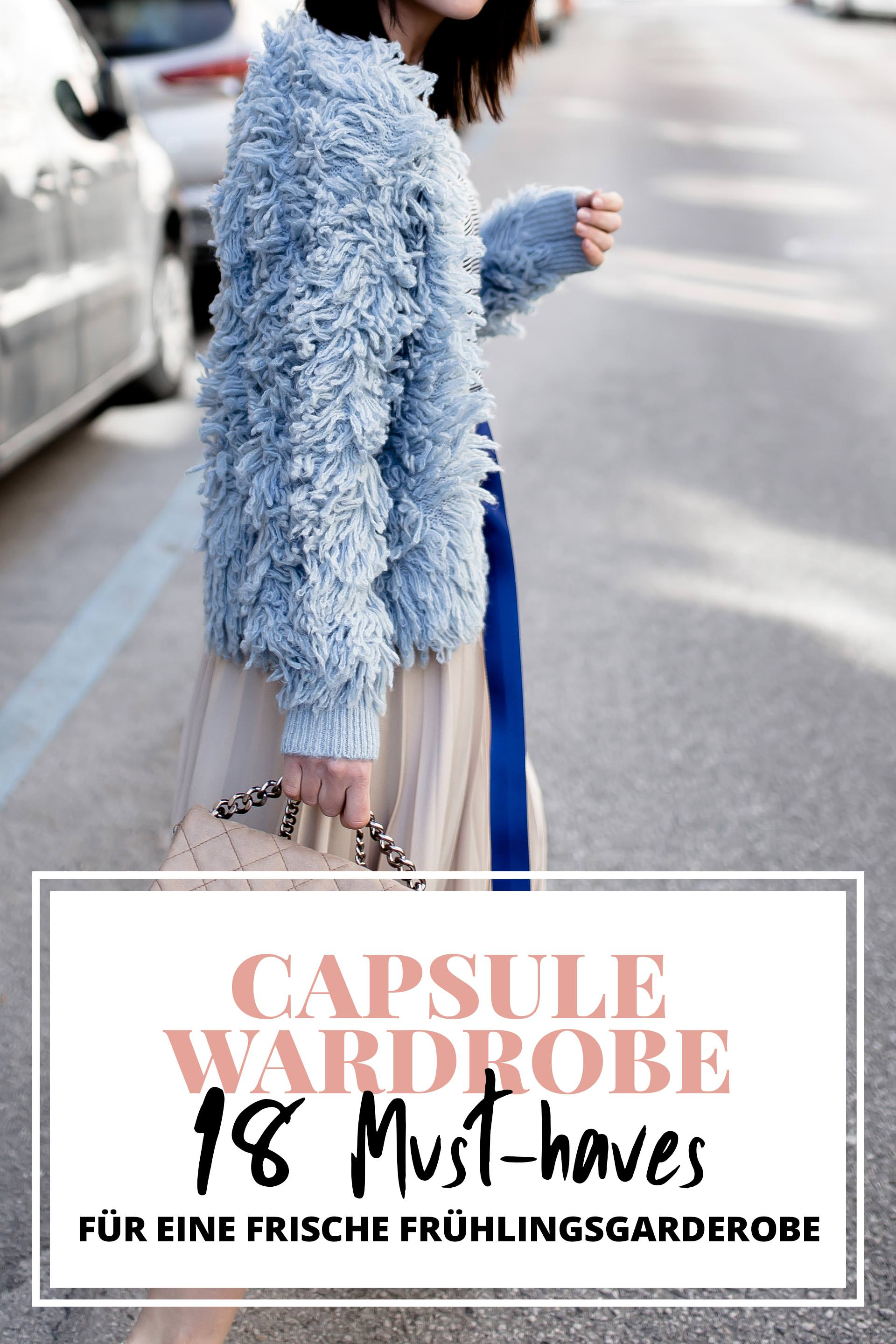 Capsule wardrobe 18 must haves f r eine frische for Garderobe trends