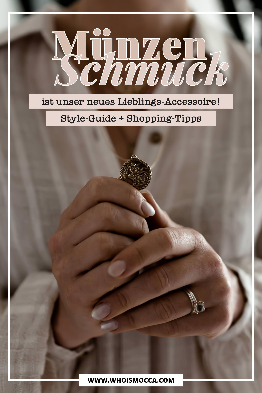 Schmucktrends 2018, welcher Schmuck ist jetzt modern und angesagt, Münzen Schmuck Trend online shoppen, Styling Tipps für Schmuck Layering, Modeschmuck für junge Frauen und Trendsetter, Fashion Blogger Tipps, www.whoismocca.com