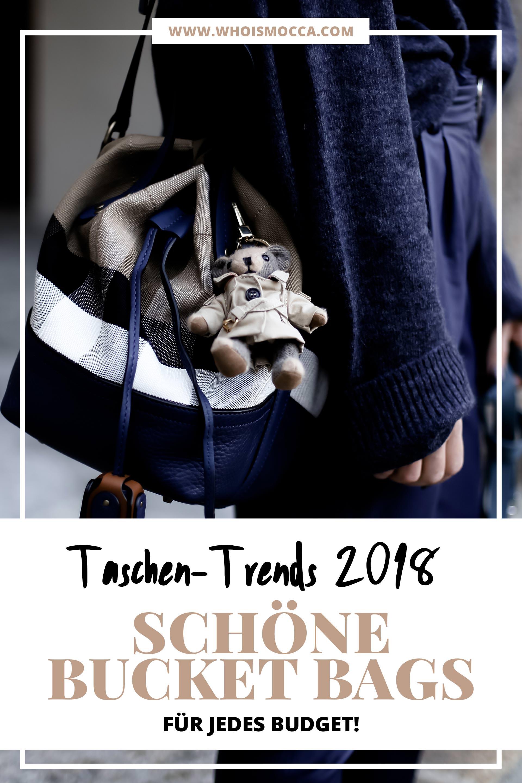 Taschen Trends 2018, die schönsten Beuteltaschen für jedes Budget, günstige und schöne Bucket Bags online kaufen, schöne Beuteltaschen für wenig Geld, Taschen Must Haves, Welche Tasche passt zu jedem Outfit?, Fashion Blogger, Mode Tipps, www.whoismocca.com