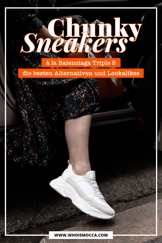 88f5f2b3354703 Chunky Sneakers à la Balenciaga Triple S  Das sind die besten ...