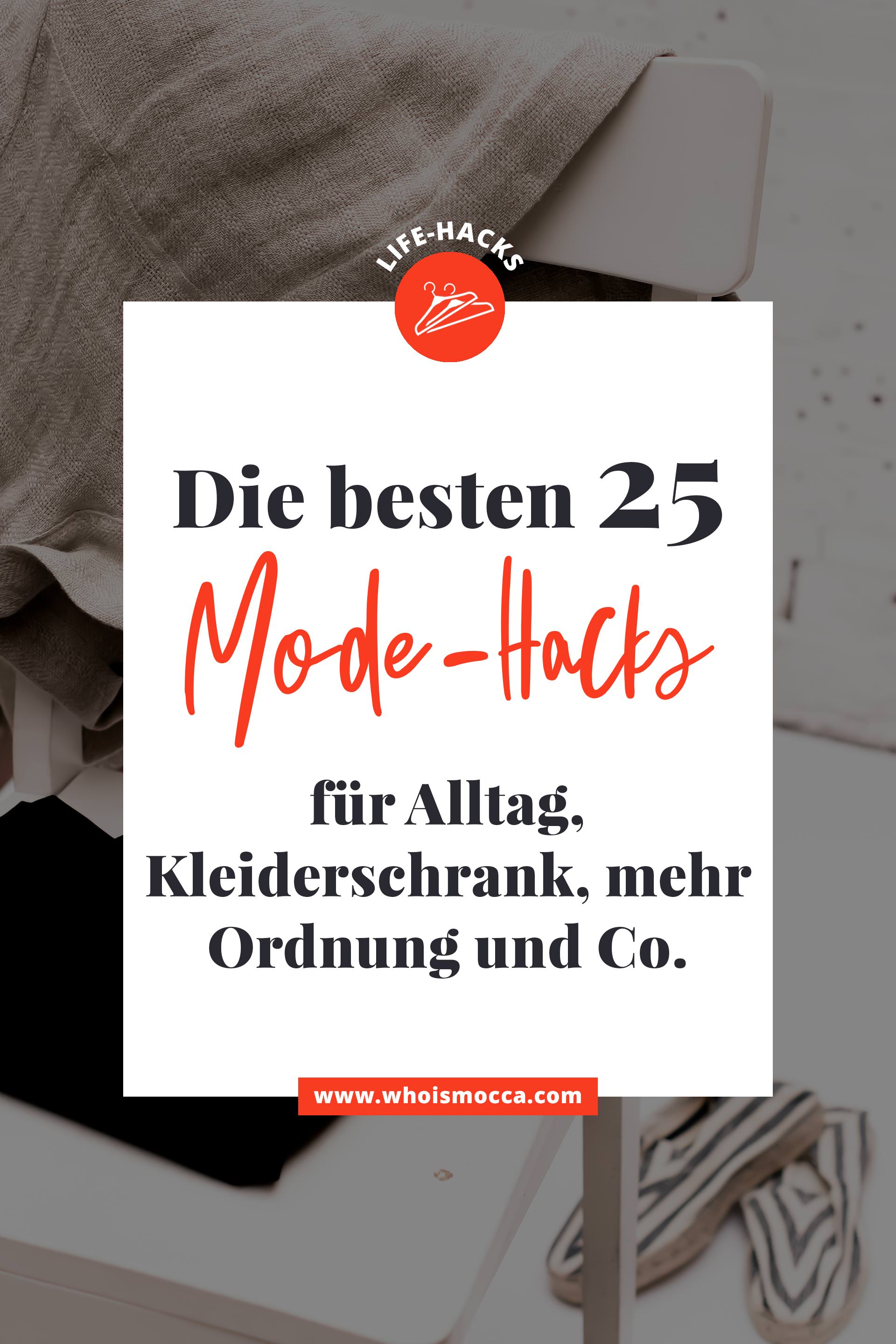 die besten 25 life hacks f r mode klamotten und. Black Bedroom Furniture Sets. Home Design Ideas