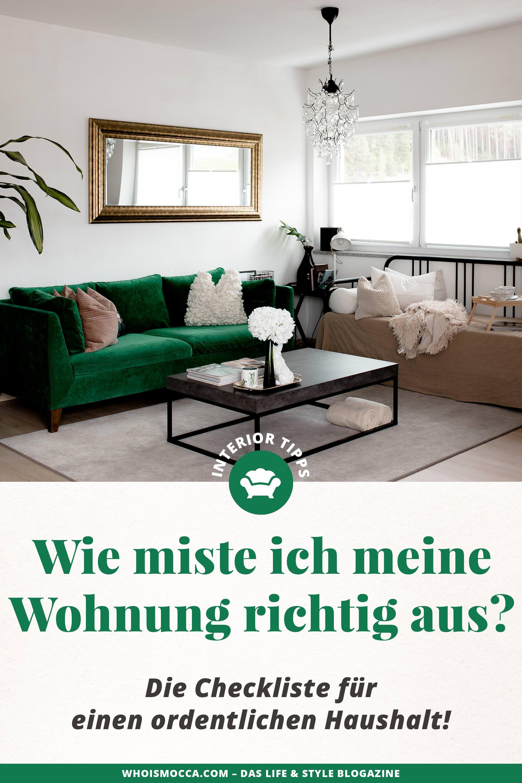 wie miste ich meine wohnung richtig aus die checkliste. Black Bedroom Furniture Sets. Home Design Ideas