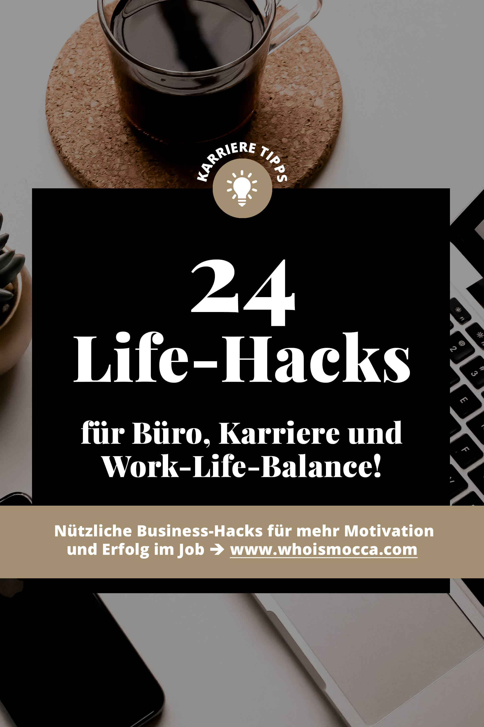die 24 besten life hacks f r b ro karriere und work life balance. Black Bedroom Furniture Sets. Home Design Ideas