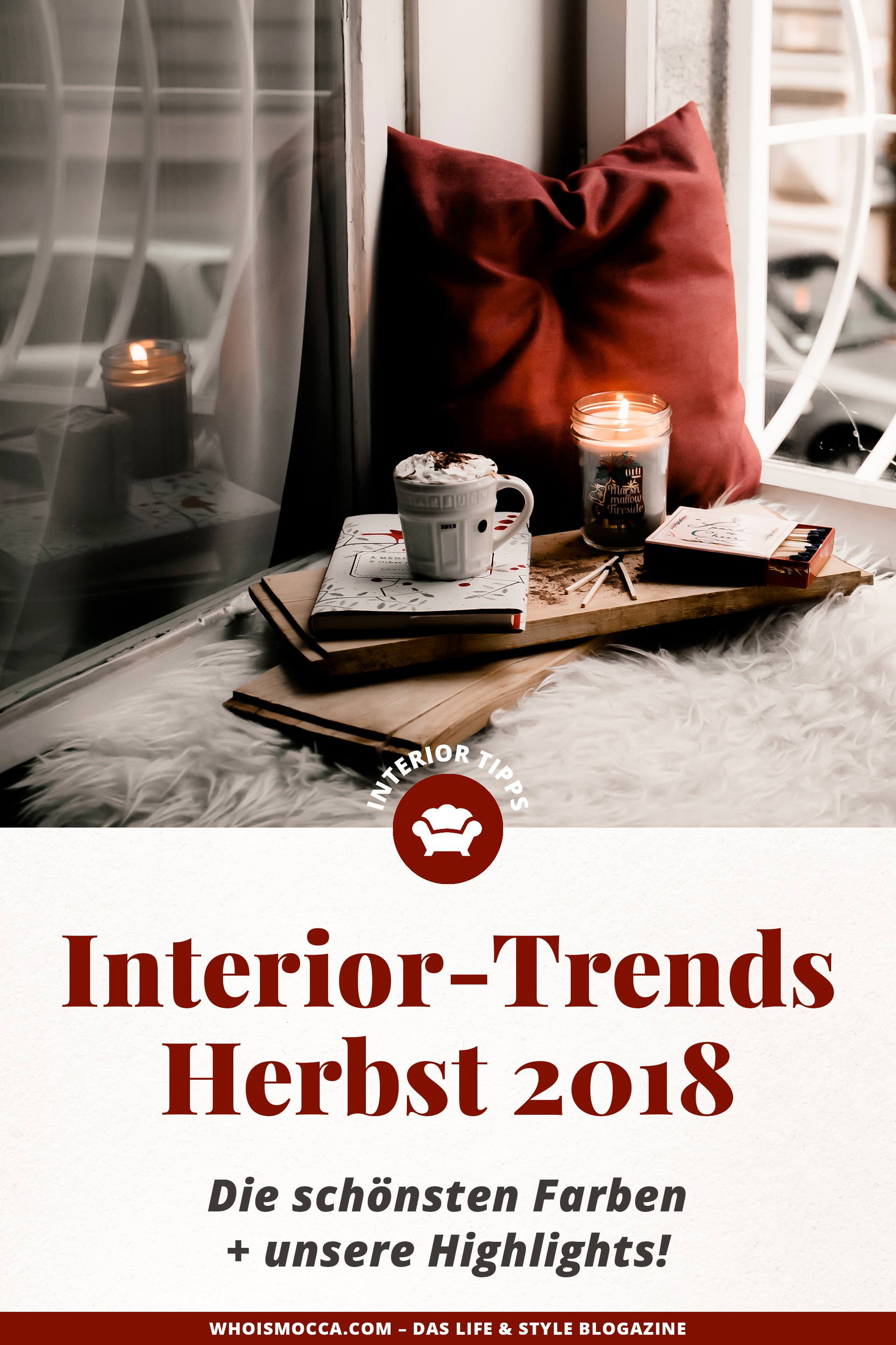 interior trends im herbst 2018 die sch nsten farben unsere highlights. Black Bedroom Furniture Sets. Home Design Ideas