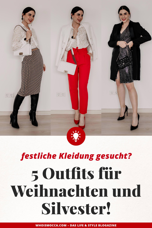 Festliche mode gesucht das sind meine 5 outfits f r weihnachten und silvester - Festliche kleider weihnachten ...