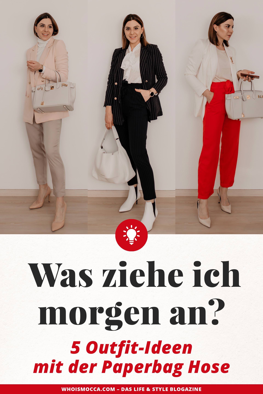 riesige Auswahl an beste Schuhe günstig kaufen Wie kann man eine Paperbag Hose kombinieren? 5 Outfit-Ideen ...
