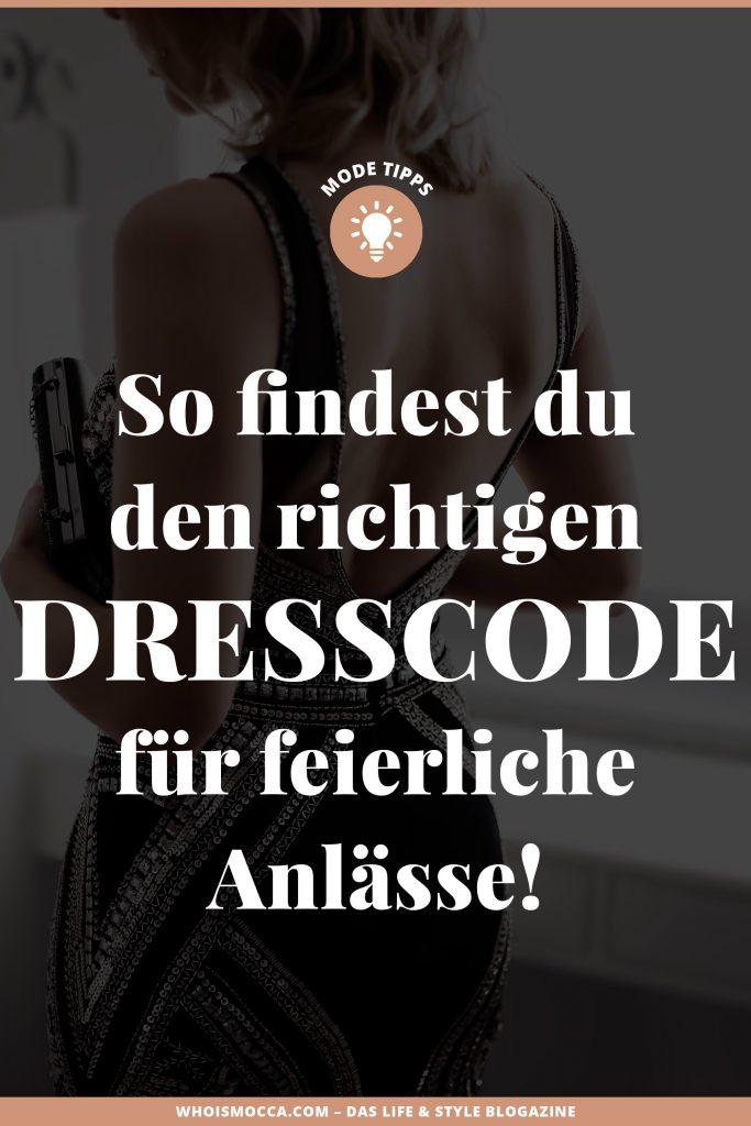 Dresscode-Übersicht: So findest du das richtige Outfit für feierliche