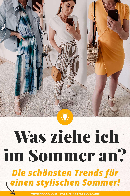 Was ist im Sommer 2019 modern? Auf meinem Modeblog findest du die schönsten Sommertrends 2019 und praktische Styling-Tipps. Welche Taschen sind im Trend? Welche Schuhe trage ich im Sommer? Welche Accessoires sind modern und wo kann ich schöne Sommer Mode online bestellen? Auf all diese Mode-Fragen liefere ich dir passende Antworten: www.whoismocca.com #sommertrends #modetrends #sommermode #sommeroutfits