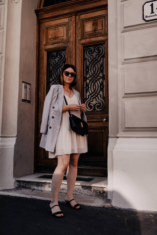 Mein Sommer Outfit Mit Kleid Und Blazer Styling Tipps Life Und Style Blog Aus österreich