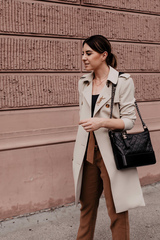 So style ich meine Paperbag Hose mit schönen Loafers und