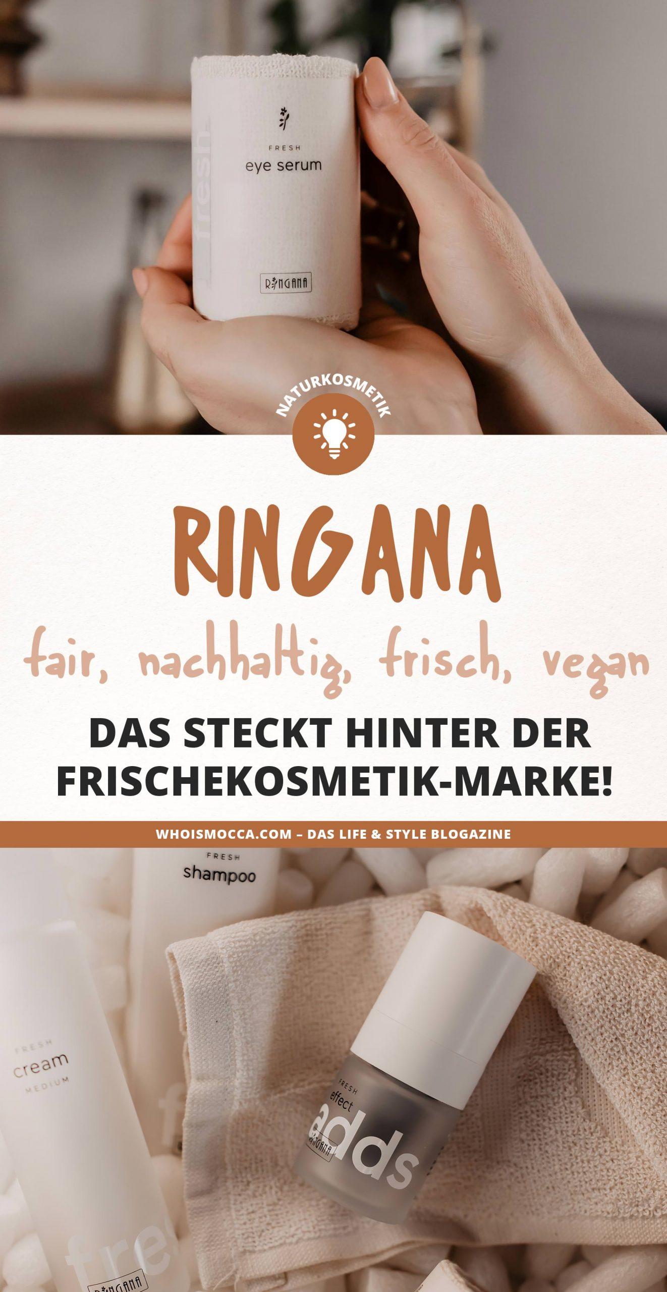 Kennst du schon #RINGANA? Am Beauty Blog erfährst du alles was du zur #Frischekosmetik Marke wissen musst. Ich teile meine Erfahrungen mit dir und erkläre dir, warum Frischekosmetik besser als reine #Naturkosmetik ist. Neugierig geworden? Mehr dazu am Blog www.whoismocca.com