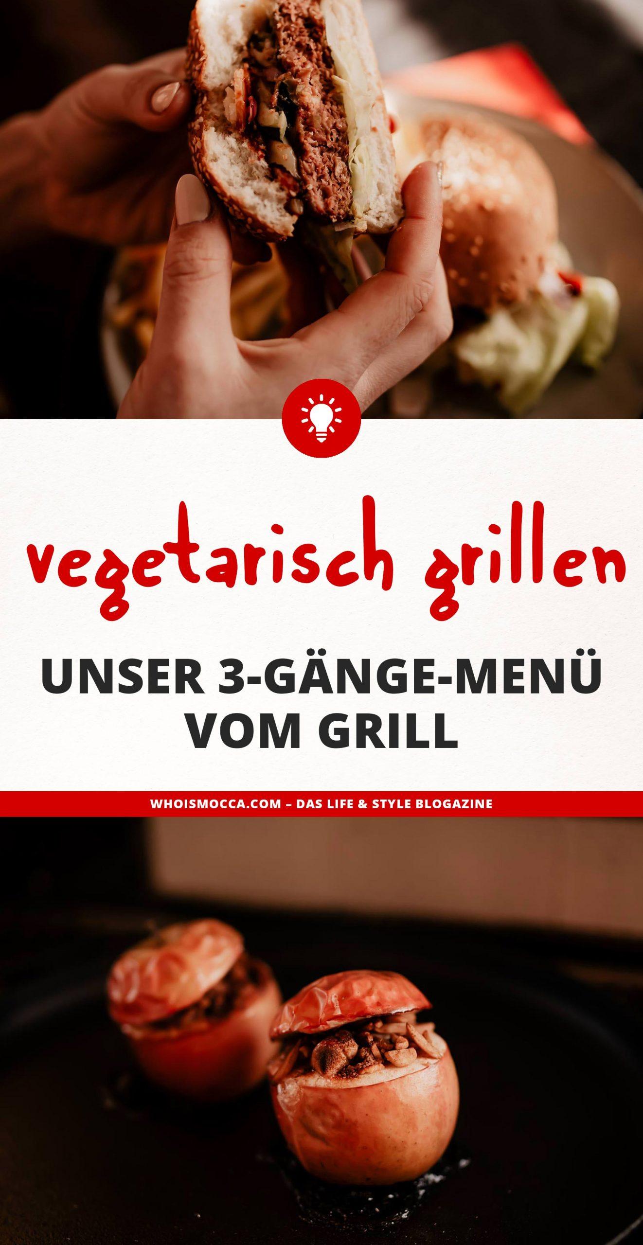 Anzeige. Vegetarisch grillen kann so lecker sein! Heute gibt es am Food Blogunser 3-Gänge Weihnachtsmenü vom Grill – super lecker, super einfach und mit vielen Lieblingsrezepten. www.whoismocca.com #weihnachtsmenü #vegetarisch #grillen