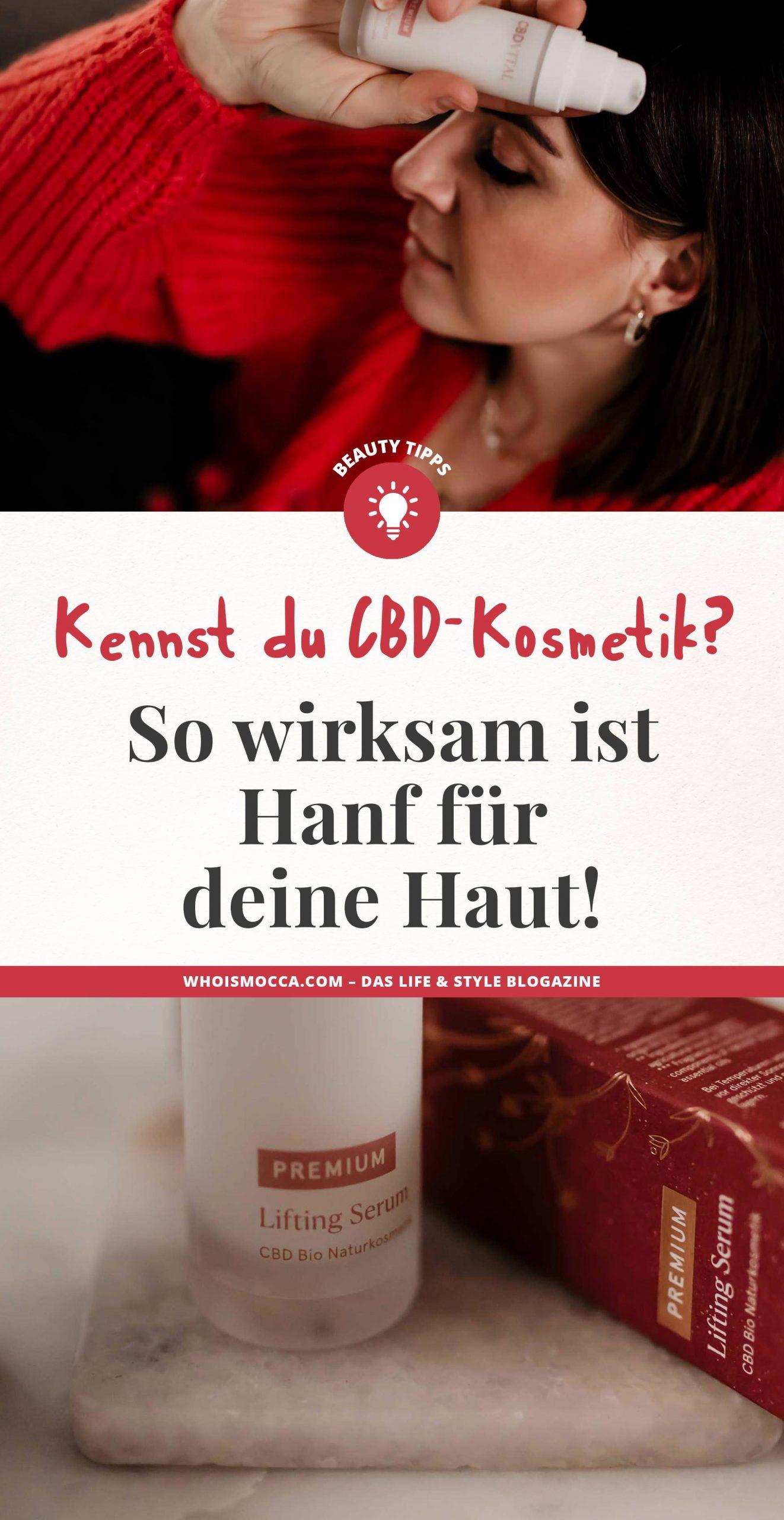 Anzeige. Am Naturkosmetik Blog erzähle ich dir heute, warum es sich lohnt bei deiner Hautpflege auf CBD-Kosmetikzu setzen. Natürliches Anti-Aging kann so einfach sein, am Naturkosmetik Beautyblog verrate ich dir mehr. www.whoismocca.com #cbdkosmetik #hanfkosmetik #naturkosmetik