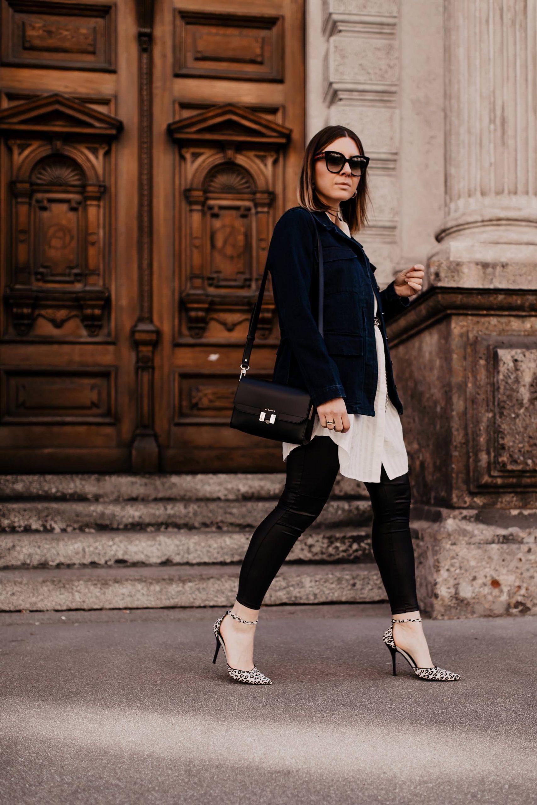 Eine Maison Héroïne Tasche stand schon lange auf meiner Mode-Wunschliste. Hochwertige Taschen peppen jeden Basic-Look auf, das steht ganz klar fest! Heute stelle ich dir meine elegante und praktische Cross-Body-Bag vor. www.whoismocca.com #maisonheroine #crossbodybag #frühlingsoutfit