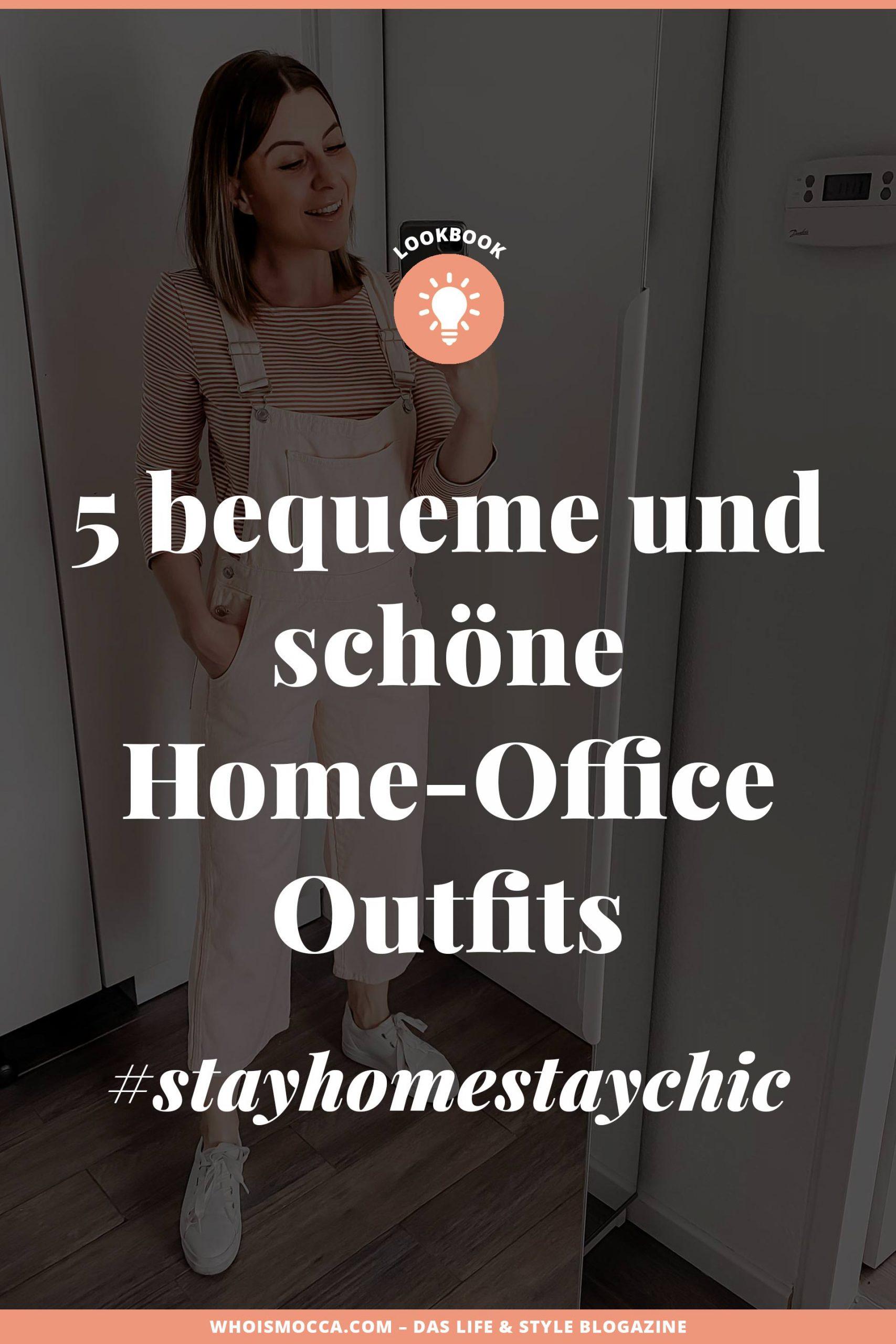 Während ich seit mehreren Jahren produktiv im Home Office arbeite, ist es für viele aktuell absolutes Neuland. 5 Home Office Outfits von Montag bis Freitag gibt es daher heute am Modeblog. #stayhomestaychic #homeoffice