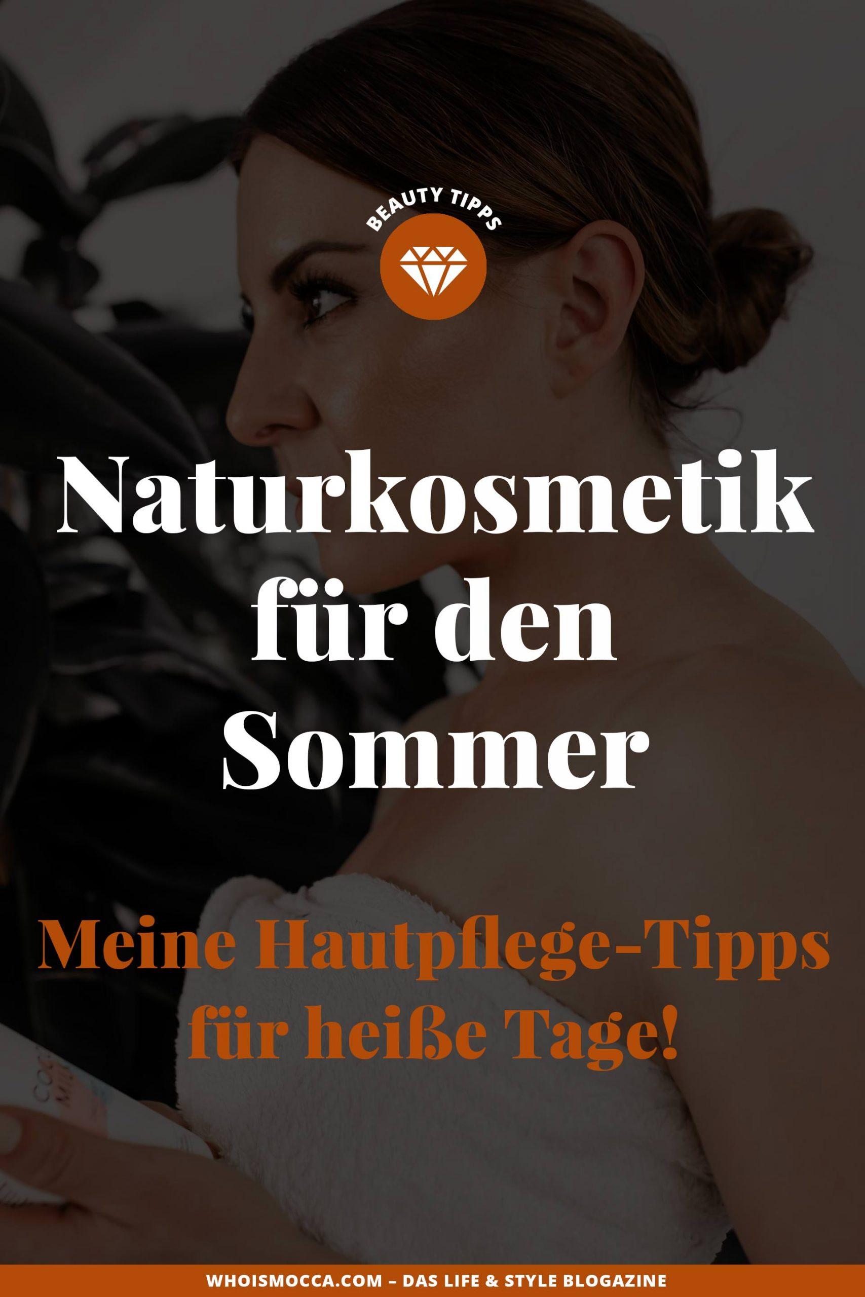 Heute dreht sich alles ummeine liebste Naturkosmetik für den Sommerund ich verrate dir mit welchen Tipps und Tricks du deine Haut an heißen Sommertagen ideal unterstützen kannst! www.whoismocca.com