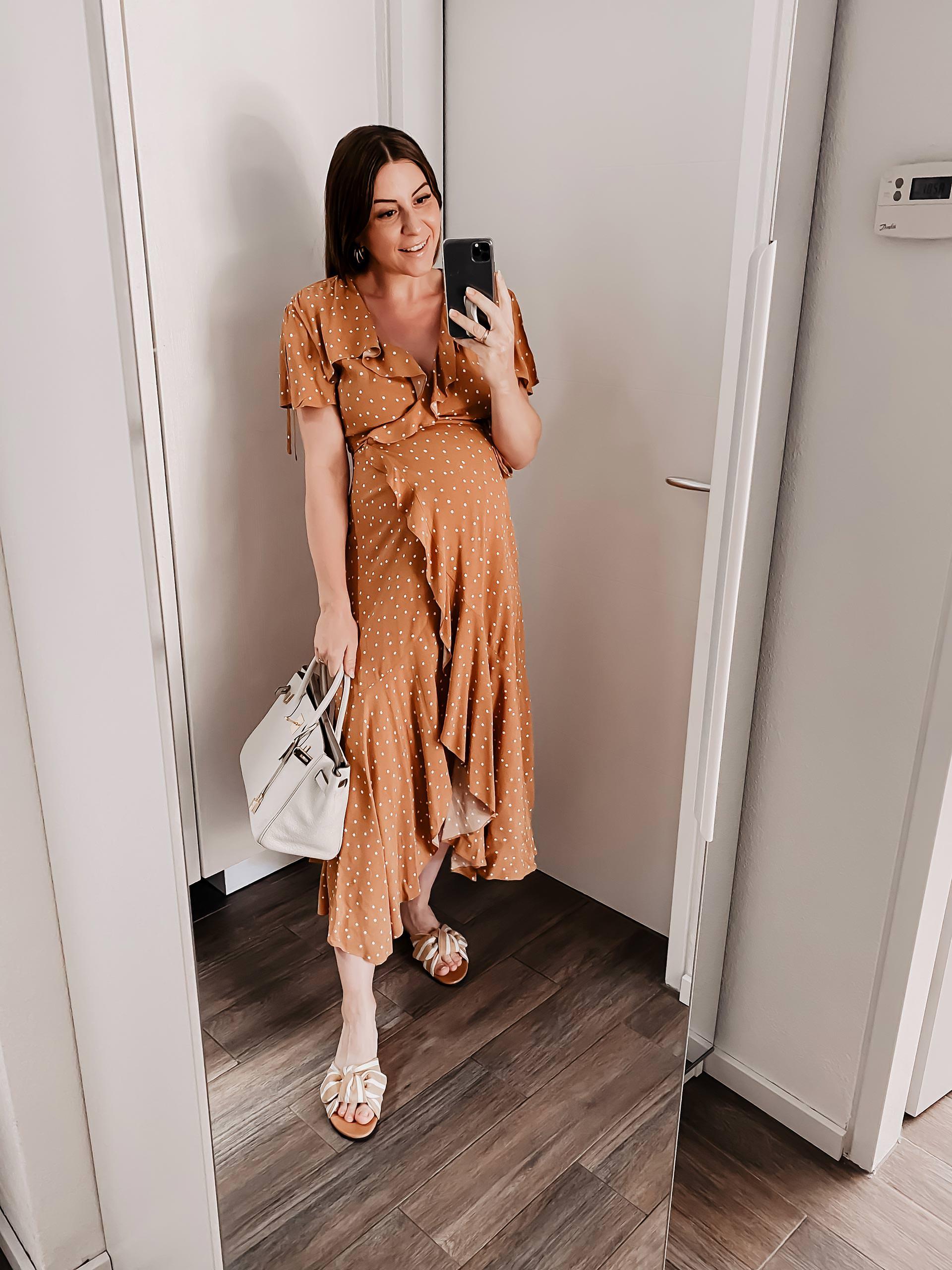 Am Mamablog aus Österreich findest du heute 5 Sommer Outfits für Schwangere, die ganz ohne Umstandsmode auskommen! www.whoismocca.com