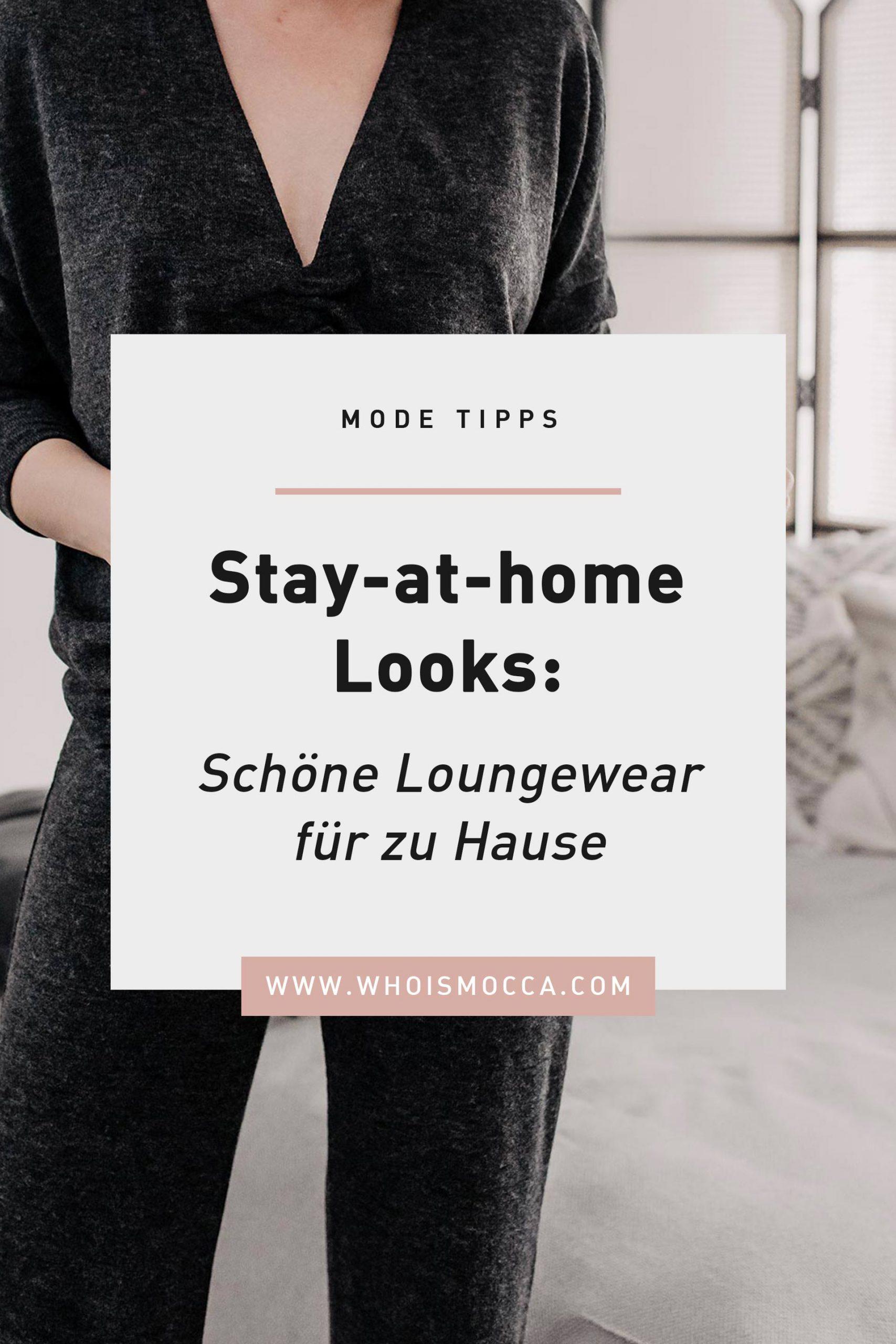 Am Modeblog stelle ich dir schöne Loungewear für zu Hause vor. Tolle stay-at-home Looks, wo Athleisure auf Eleganz trifft. www.whoismocca.com