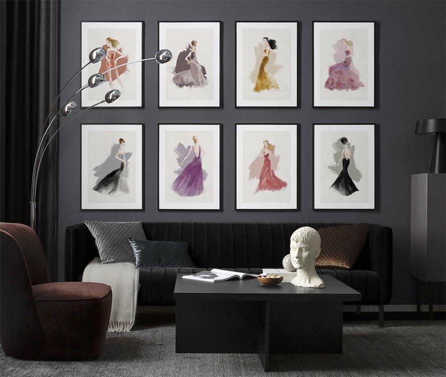 Produktplatzierung. Eine Bilderwand gestalten kann so einfach sein! Am Interior Blog zeige ich dir worauf es ankommt und ich habe 6 Tipps für dich für besonders gelungene Arrangements. www.whoismocca.com